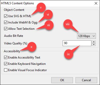 content options 2